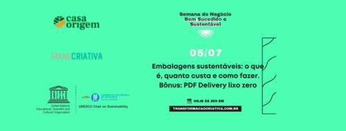 Embalagens sustentáveis [Aula 5]