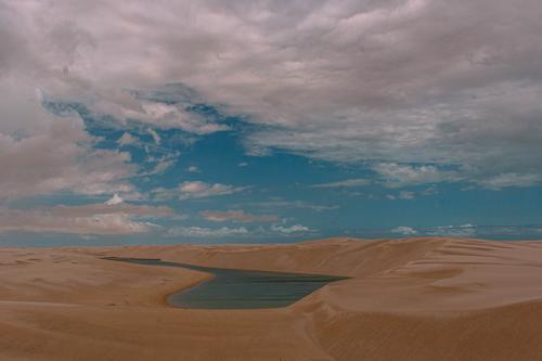 Você se sente rastejando num deserto?